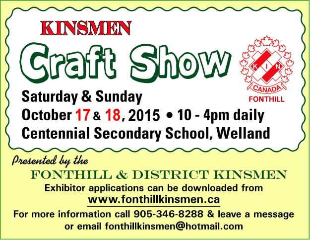 Kinsmen Craft Show 2015